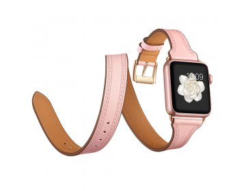 Tech-Protect LONGCHARM APPLE WATCH 1/2/3/4/5 38/40MM PINK/GOLD