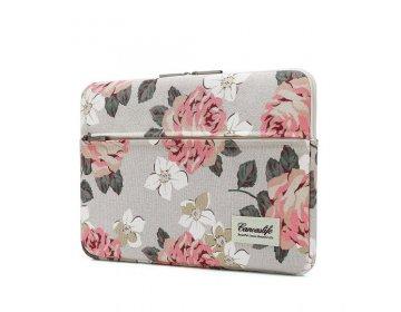 Canvaslife SLEEVE MACBOOK PRO 15 biało różowy