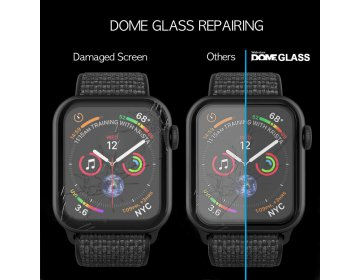 Szkło hartowane WHITESTONE DOME GLASS APPLE WATCH 4/5 44MM bezbarwny
