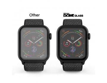 Szkło hartowane WHITESTONE DOME GLASS APPLE WATCH 4/5/6/SE 44MM bezbarwny