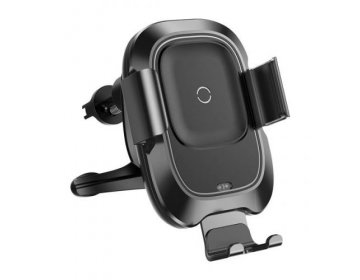 Baseus VEHICLE VENT CAR MOUNT WIRELESS CHARGER czarny