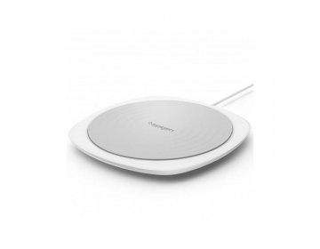 Spigen F305W WIRELESS FAST CHARGER biały
