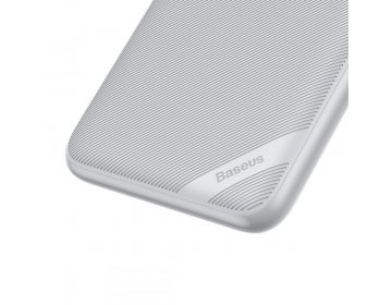 Baseus S10 power bank 10000MAH & WIRELESS CHARGER biały