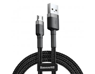 Baseus CAFULE MICRO-USB CABLE 300CM GREY/BLACK