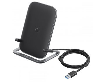 Baseus RIB WIRELESS CHARGER czarny