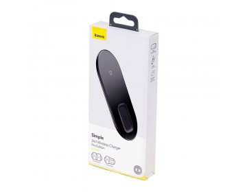 Baseus SIMPLE PRO 2IN1 WIRELESS CHARGER biały
