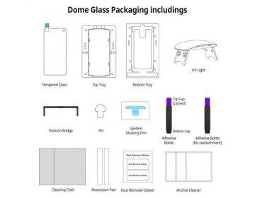 Szkło hartowane WHITESTONE DOME GLASS SAMSUNG S20+ Plus bezbarwny