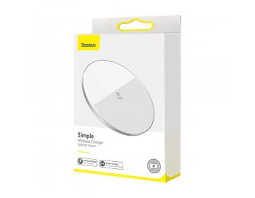 Baseus SIMPLE 15W WIRELESS CHARGER biały