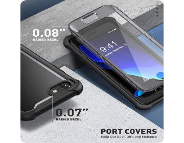 Supcase IBLSN ARES iPhone 7/8/SE 2020 czarny
