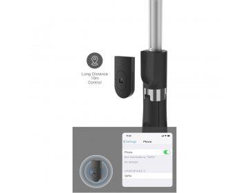 Tech-Protect L01S WIRELESS SELFIE STICK TRIPOD czarny