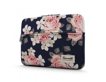 Canvaslife SLEEVE LAPTOP 13-14 NAVY ROSE