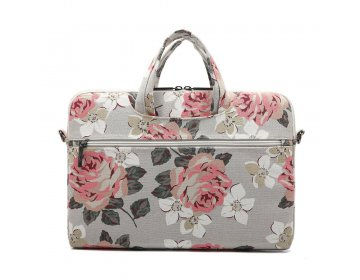 Canvaslife BRIEFCASE LAPTOP 13-14 niebieski CAMELLIA