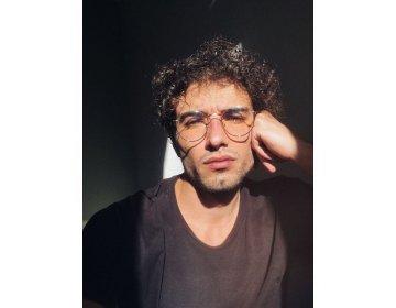 Okulary Z FILTREM niebieski LIGHT do KOMPUTERA MELLER YSTER srebrny