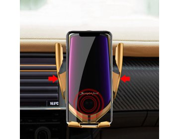 Tech-Protect R2 CAR MOUNT WIRELESS CHARGER złoty
