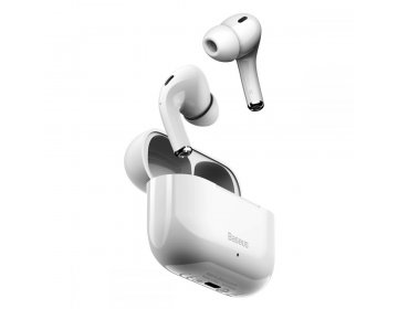 Baseus W3 TWS WIRELESS EARPHONE biały