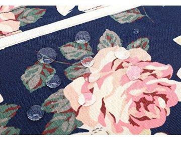Canvaslife BRIEFCASE MACBOOK AIR/PRO 13 NAVY ROSE