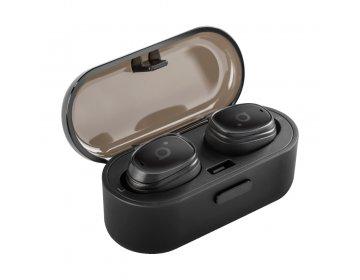 Acme Europe słuchawki bezprzewodowe dokanałowe BH410 TWS czarne
