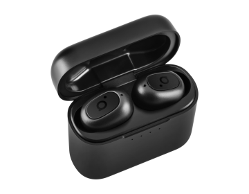 Acme Europe słuchawki bezprzewodowe dokanałowe BH420 TWS czarne