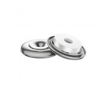Baseus zapach samochodowy Vortex srebrny