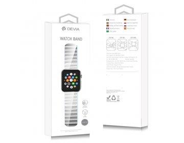 Devia pasek Elegant Link Bracelet do Apple Watch 44mm/ 42mm srebrny