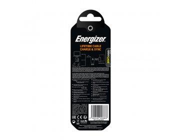 Energizer kabel Hardcase USB Lightning 1,2 m biały Lifetime Tinbox