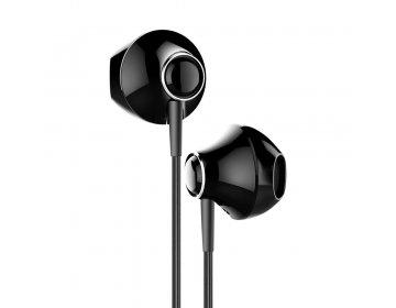 Baseus słuchawki przewodowe P06 8-pin czarne