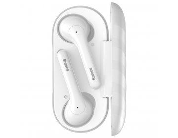 Baseus słuchawki bluetooth TWS W07 białe