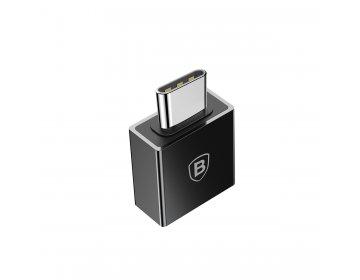 Baseus adapter Exquisite USB typ-C do USB-A czarny