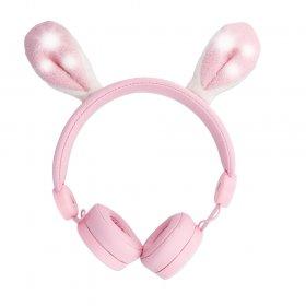Słuchawki nauszne przewodowe Forever Bunny AMH-100