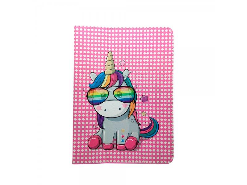 """Uniwersalne etui do tabletów 9-10"""" Rainbow Unicorn"""