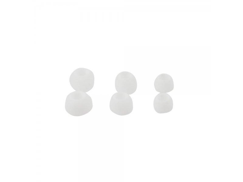 Gumki do Słuchawek Dousznych 3 rozmiary w komplecie biały