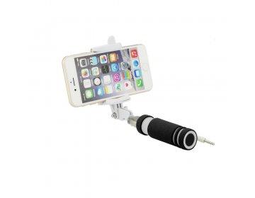 Zestaw/uchwyt mini do selfie Blun czarny przewód 3,5mm Jack