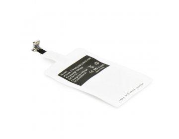 Adapter do ładowania indukcyjnego/bezprzewodowego pasuje do iPhone Lightning 8-pin