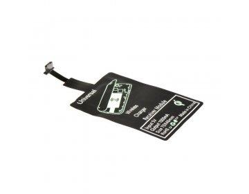 Adapter do ładowania indukcyjnego/bezprzewodowego pasuje do MicroUSB typ A