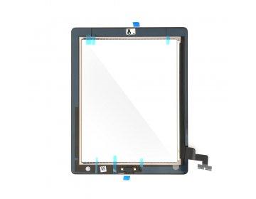 Ekran dotykowy z przyciskiem home EQ iPad 2 czarny A1395, A1396, A1397