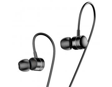 Baseus zestaw słuchawkowy/słuchawki ENCOK Wire H04 czerwony NGH04-09