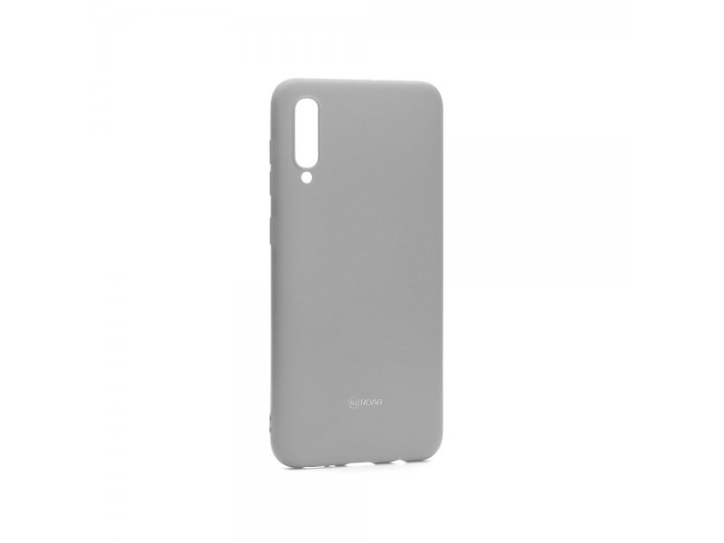 Futerał ROAR Colorful Jelly Case Samsung A50 Szary