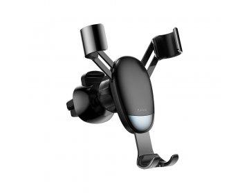 Baseus uchwyt samochodowy do kratki Gravity mini czarny SUYL-G01
