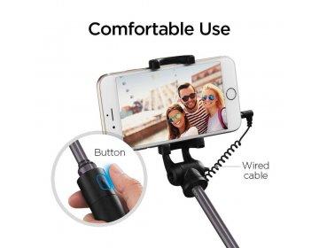 Uchwyt selfie SPIGEN S530 Selfie Stick czarny