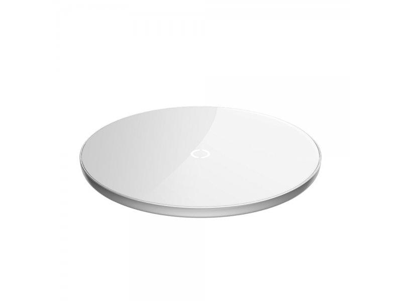 Baseus ładowarka bezprzewodowa/indukcyjna SIMPLE 2A 10W Max biały CCALL-JK02/BWSC-P10