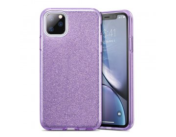 Futerał ESR Makeup Glitter do iPhone 11 6.1 fioletowy