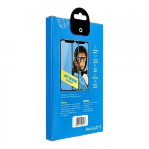 Szkło Hartowane 5D Mr. Monkey Apple iPhone 11 czarny Hot Bending
