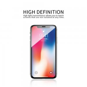 Szkło hartowane X-ONE Full Cover Extra Strong do iPhone 11 full glue czarny