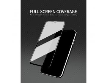 Szkło hartowane X-ONE Full Cover Extra Strong iPhone 11 full glue czarny