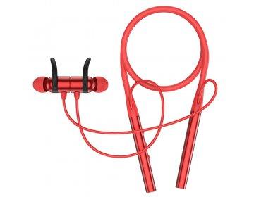 Hoco SELECTED słuchawki bluetooth sportowe Glamour S18 czerwone