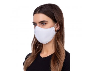 Maska na twarz   profilowana biały