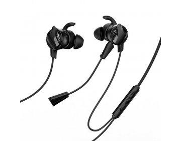 Baseus zestaw słuchawkowy/słuchawki GAMO Wired H15 czarny NGH15-01