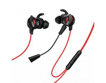Baseus zestaw słuchawkowy/słuchawki GAMO Wired H15 czerwony NGH15-91