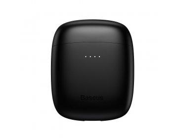 Baseus zestaw słuchawkowy/słuchawki bluetooth TWS Encok True W04 Pro czarne NGW04P-01