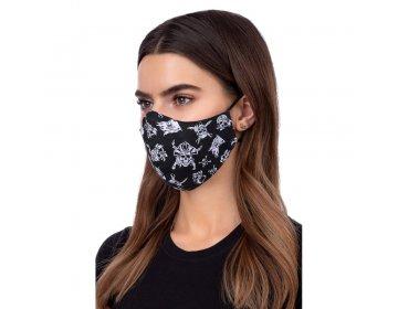 Maska na twarz   profilowana wzór pirat